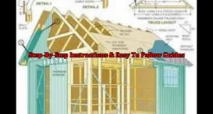 Garden Shed Plans Free – Garden Shed Designs and Easy to follow DIY shed Plan